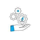 Optimization icon Royalty Free Stock Image