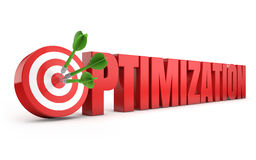 Optimization target seo Royalty Free Stock Images