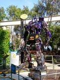 Optimus prima robić recyclable metalu świstkiem obrazy stock