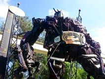 Optimus prima robić recyclable metalu świstkiem obrazy royalty free