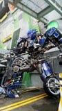 Optimus Prime Robot Model Stock Image