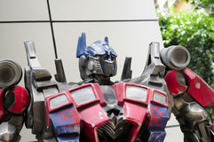 Optimus Prime Transformer Stock Image