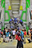 Optimus prime at the Universal Studio Singapore Royalty Free Stock Photography