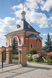 Optina Pustyn monastery. Optina Pustyn. The temple in honor of Lord's Transformation Stock Photos