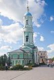 Optina Pustyn monastery. Optina Pustyn. View of a belltower. Kozelsk, Russia Stock Photo