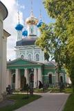 Optina Pustyn monastery. Vvedensky Cathedral. Kozelsk, Russia Royalty Free Stock Photos