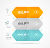 Option banner infographic concept. Vector Stock Image