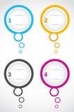 Option bubbles Stock Image