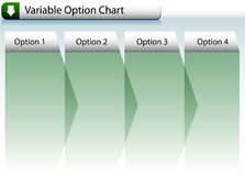 Option Chart Royalty Free Stock Image
