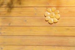 Option du décor à la maison du bois timber images stock