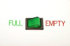 Option - full or empty Stock Photo