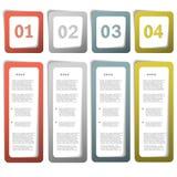 Option paper frames. Eps10 vector illustration Stock Photo