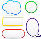 Option speech bubbles. Stock Photography