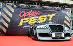 Option Thailand Fest 2014 BANGKOK, THAILAND- August 1,2014  cars shows at Thunder dome,Muengthong Thanee Royalty Free Stock Image