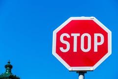 Optional stop sign Stock Photos