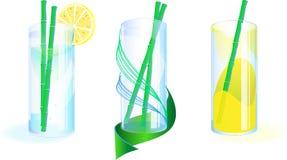 3 options avec des verres Image libre de droits