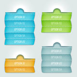 Options banner Royalty Free Stock Photos