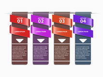 Options banner. Royalty Free Stock Image