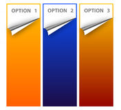 Options illustration Stock Photo