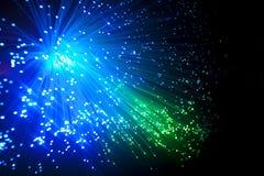 Optique de fibre Photos libres de droits