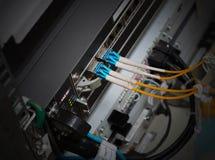 Optique de fibre Image libre de droits