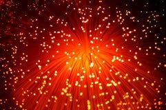 Optique des fibres photo libre de droits