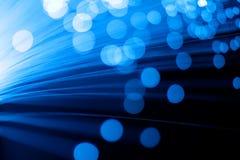 Optique des fibres Photos libres de droits