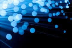 Optique des fibres Image stock