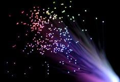 Optique des fibres photographie stock