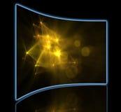 Optische Aufflackern Stockfotografie