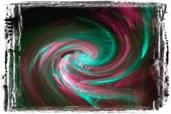 Optische de lichtenachtergrond van de vezel stock fotografie