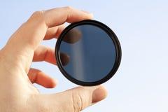 Optische filter Royalty-vrije Stock Foto's