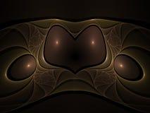 Optische Fractal 01 van de Juwelen van het Metaal van de Kunst Royalty-vrije Stock Afbeeldingen