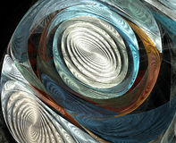 Optische illusie Stock Foto