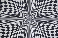Optische illusie Stock Afbeeldingen