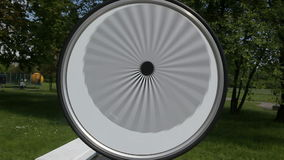 Optische illusie stock videobeelden