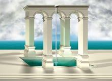 Optische illusie Stock Foto's