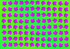 Optische illusie Abstracte achtergrond met bladeren stock illustratie