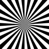 Optische illusie Abstracte lijnenachtergrond Geometrische zwart-wit Het patroon van de lijn Eps10 Vector stock illustratie