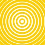 Optische illusie gele kaart royalty-vrije illustratie