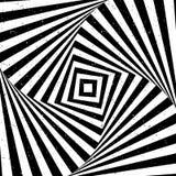 Optische illusie met textuur royalty-vrije illustratie