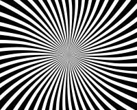 Optische illusie spiraalvormige achtergrond stock illustratie