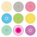 Optische illusie (Vector) royalty-vrije illustratie