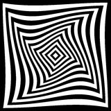 Optische illusie voor hypnotherapy stock illustratie