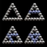Optische illusies vector illustratie