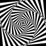 Optische Illusion-Hintergrund Auch im corel abgehobenen Betrag Lizenzfreie Stockbilder