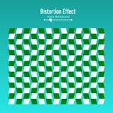 Optische Illusion Kunst des Vektor-3d Bewegungs-dynamischer Effekt Bewegung durchgeführt in der Form Geometrischer magischer Hint Stockbilder
