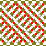 Optische Illusion Kunst des Vektor-3d Bewegungs-dynamischer Effekt Bewegung durchgeführt in der Form Geometrischer magischer Hint Lizenzfreie Stockfotos