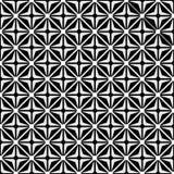 Optische Illusion mit geometrischer Zeichnung Lizenzfreie Stockfotos