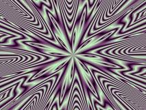 Optische Illusion-purpurrote Nova-Mehrfachverbindungsstelle Lizenzfreie Stockfotos
